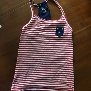 Really Cute 4th of July Girl's Tank